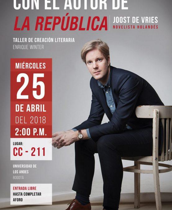 Charla y conversación con el autor de «La República»
