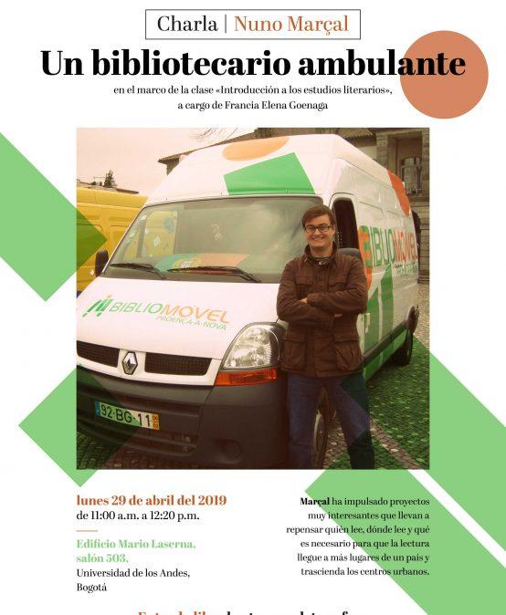 Nuno Marçal – Un bibliotecario ambulante