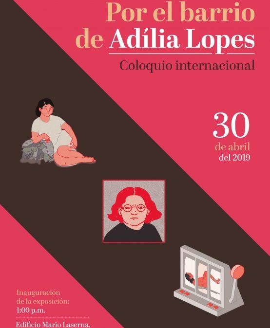 Por el barrio de Adília Lopes
