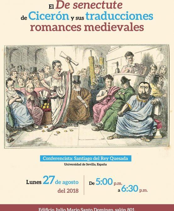 El De senectute de Cicerón y sus traducciones romances medievales