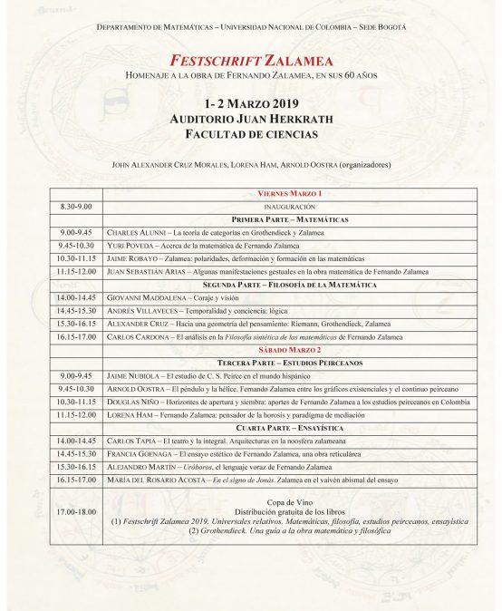 Conferencia:El ensayo estético de Fernando Zalamea, una obra reticulárea