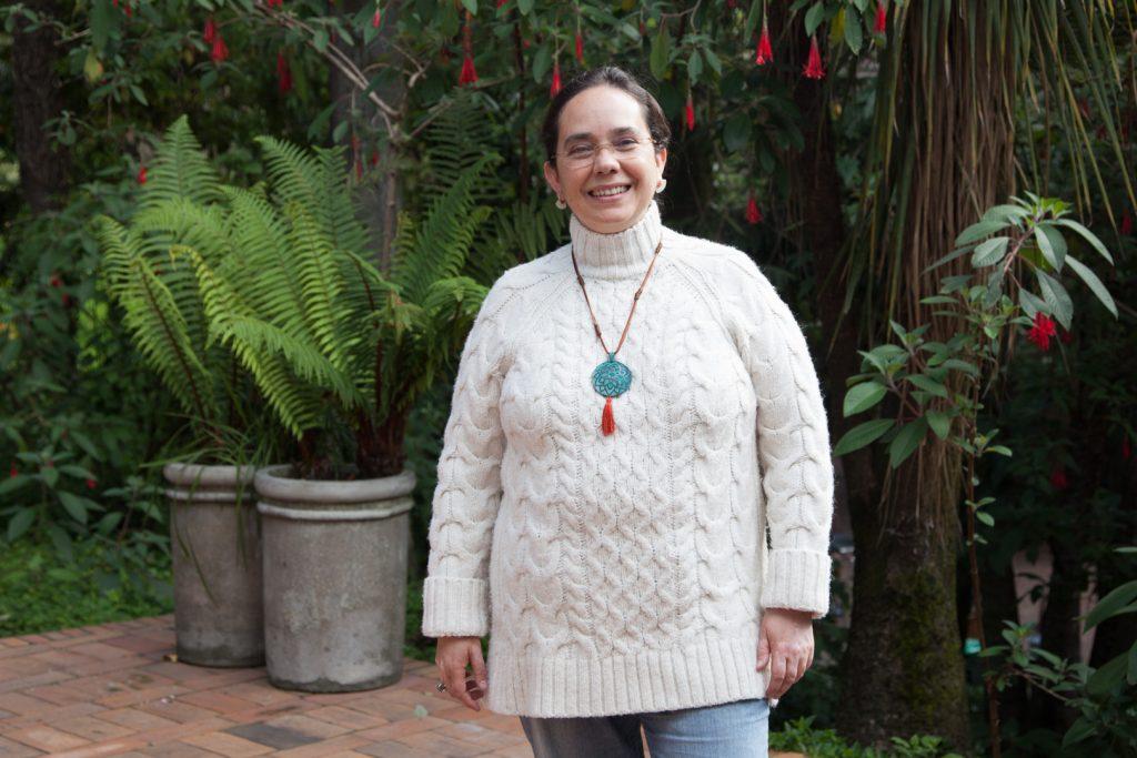 Francia Elena Goenaga, directora del Departamento de Humanidades y Literatura de la Universidad de los Andes
