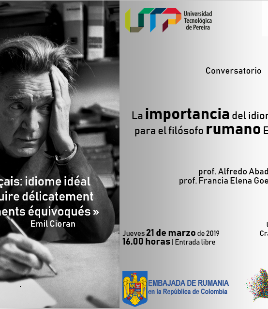 Conferencia: La importancia del idioma francés para el filósofo rumano Emil Cioran