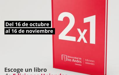 Empezó el 2×1 de Ediciones Uniandes