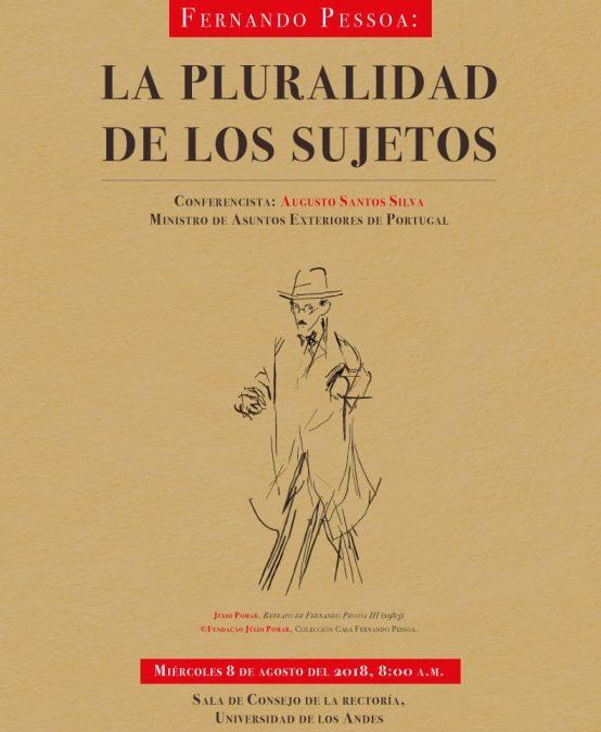 Conferencia: Fernando Pessoa: la pluralidad de los sujetos