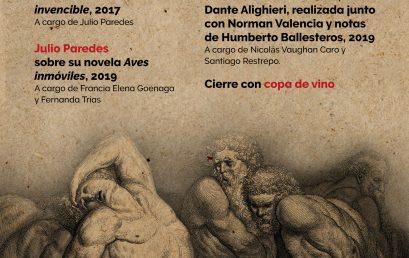 Presentación de publicaciones de Humanidades y Literatura y conversatorio con Fernanda Trías, Jerónimo Pizarro y Julio Paredes