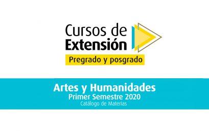 Tome un curso de extensión en los programas de la Facultad de Artes y Humanidades