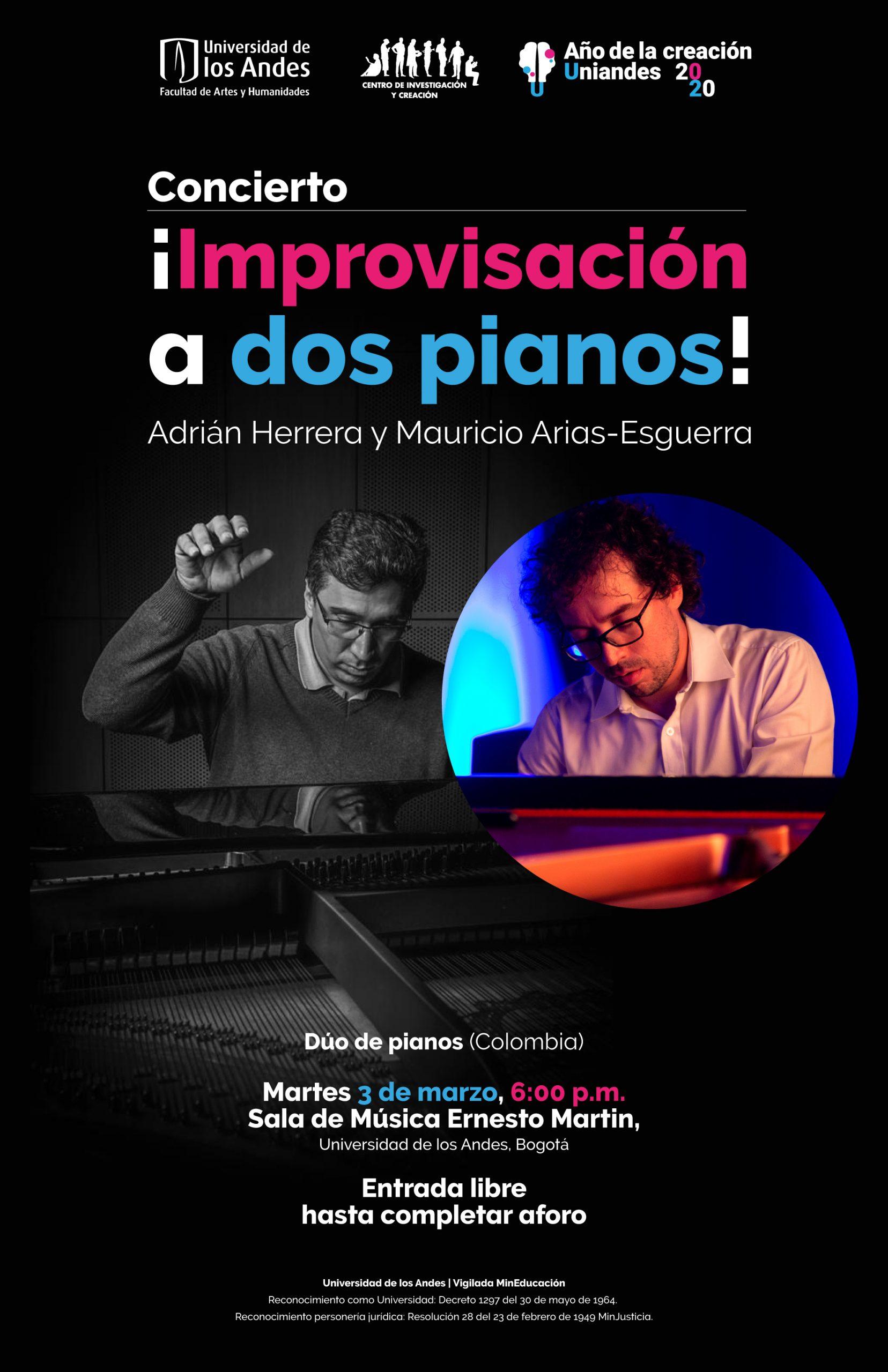 Improvisación a dos pianos