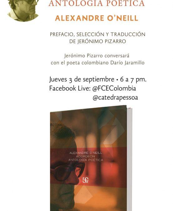 Lanzamiento Acordeón. Antología poética. Jerónimo Pizarro conversa con Darío Jaramillo
