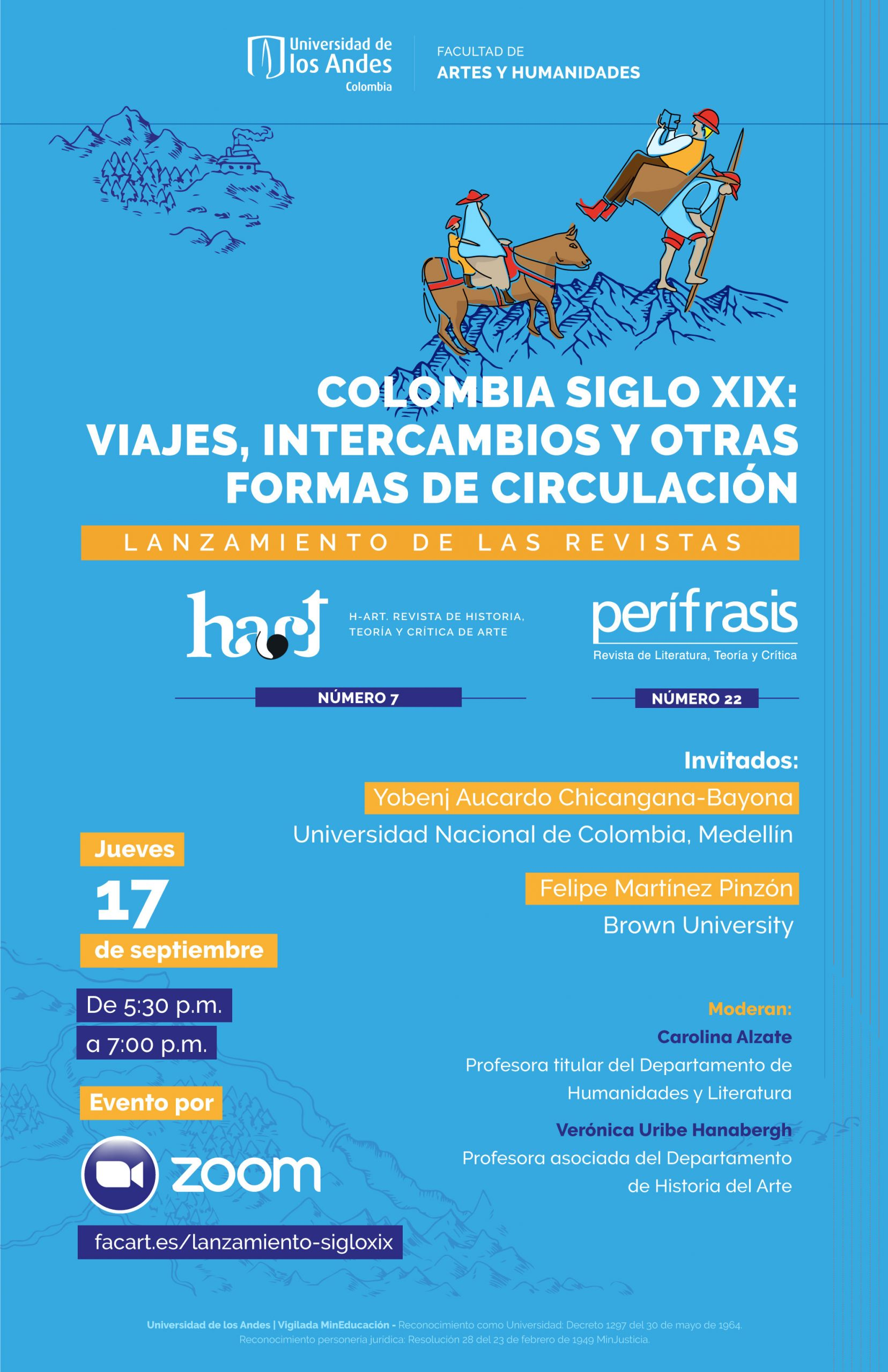 Colombia siglo XIX: viajes, intercambios y otras formas de circulación