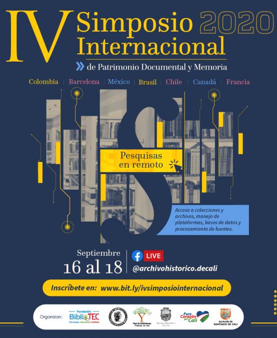 IV Simposio Internacional de Patrimonio Documental
