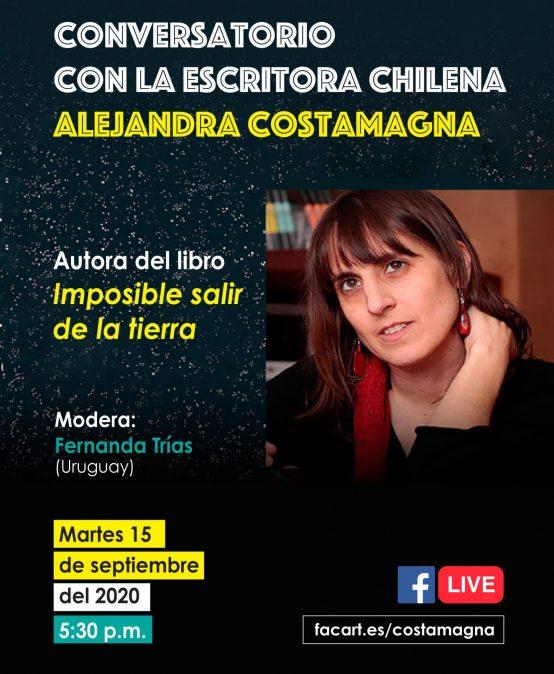 Conversatorio con la escritora chilena Alejandra Costamagna