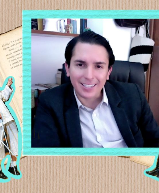 Gabriel Rojas Andrade, nuestro egresado de Literatura experto en justicia transicional