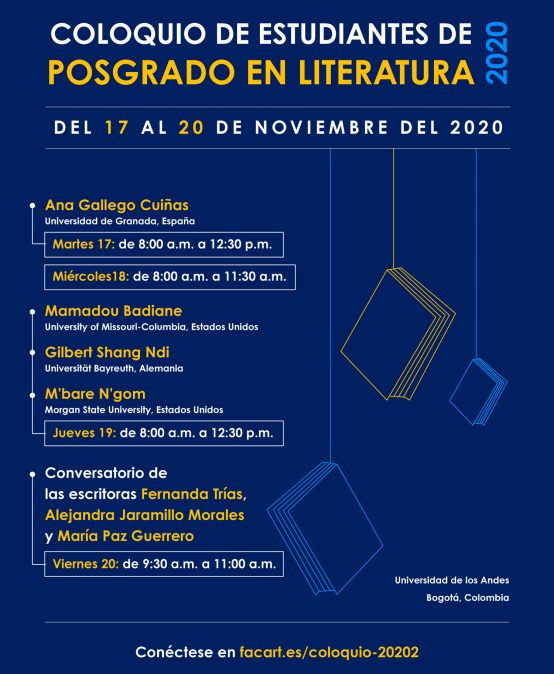 Ana Gallego Cuiñas. Coloquio de estudiantes de posgrado en Literatura