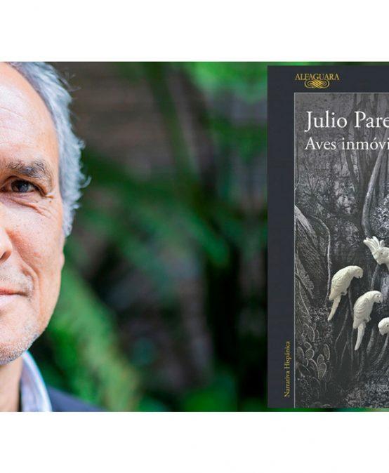 Julio Paredes gana el Premio Nacional de Novela 2020 con Aves Inmóviles