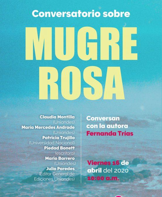 Conversatorio sobre Mugre Rosa de Fernanda Trías