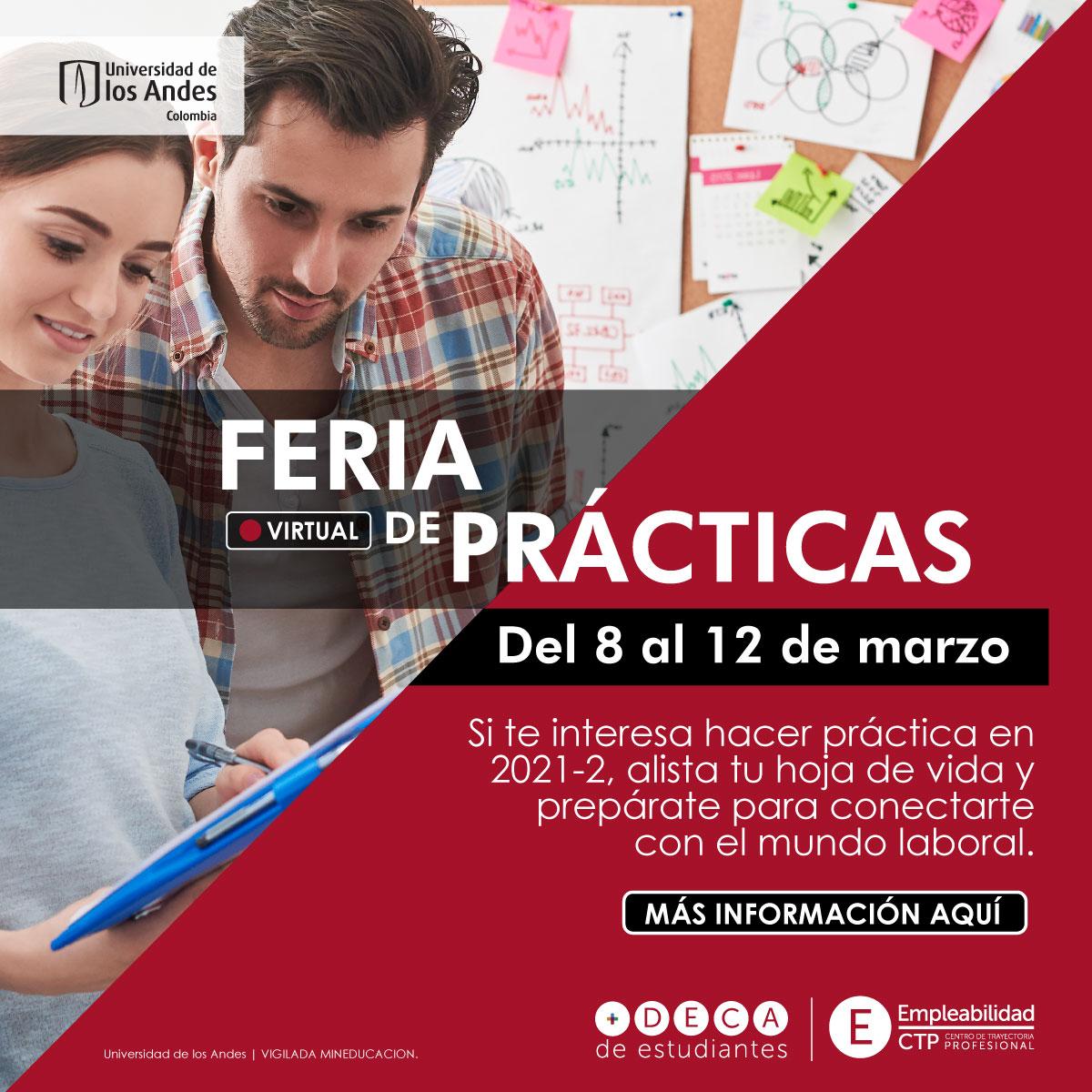 Feria virtual de Prácticas 2021-1