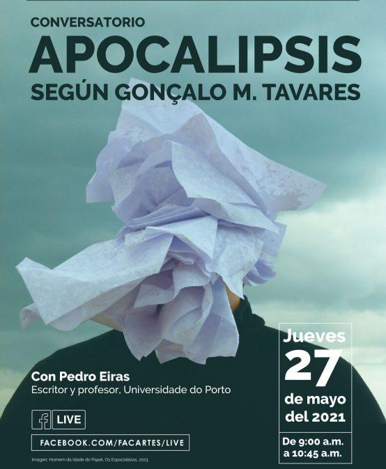 Conversatorio: Apocalipsis según Gonçalo M. Tavares