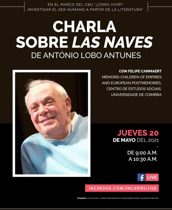"""Charla sobre """"Las naves"""" de António Lobo Antunes."""
