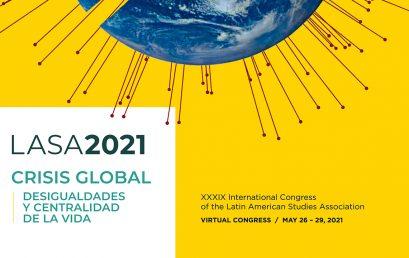 Cuatro profesoras de Facartes participan en el Congreso de Latin American Studies Association, LASA, 2021