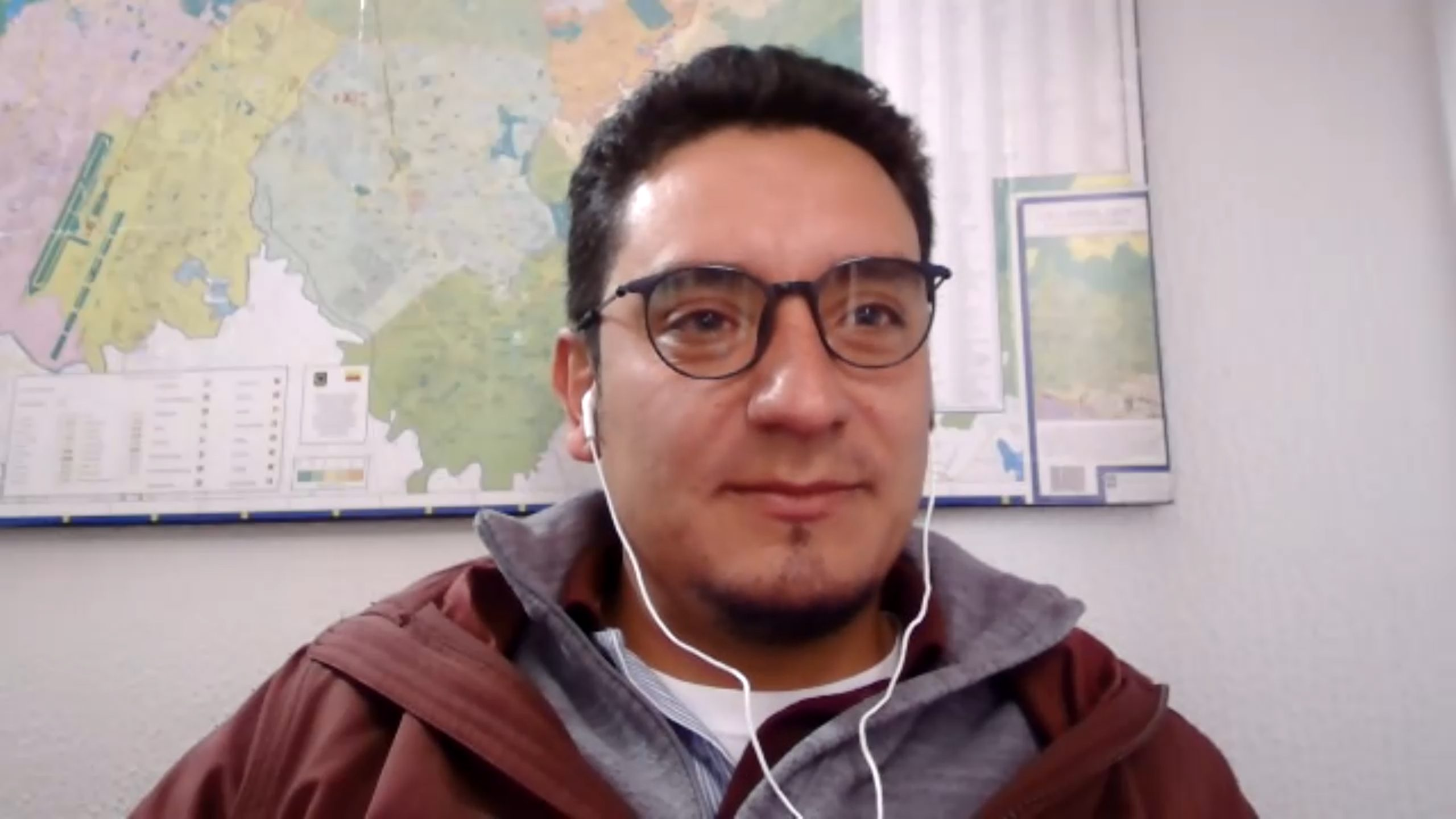 Andrés Bustos, egresado de la Maestría en Literatura, seleccionado como mentor del IDEP