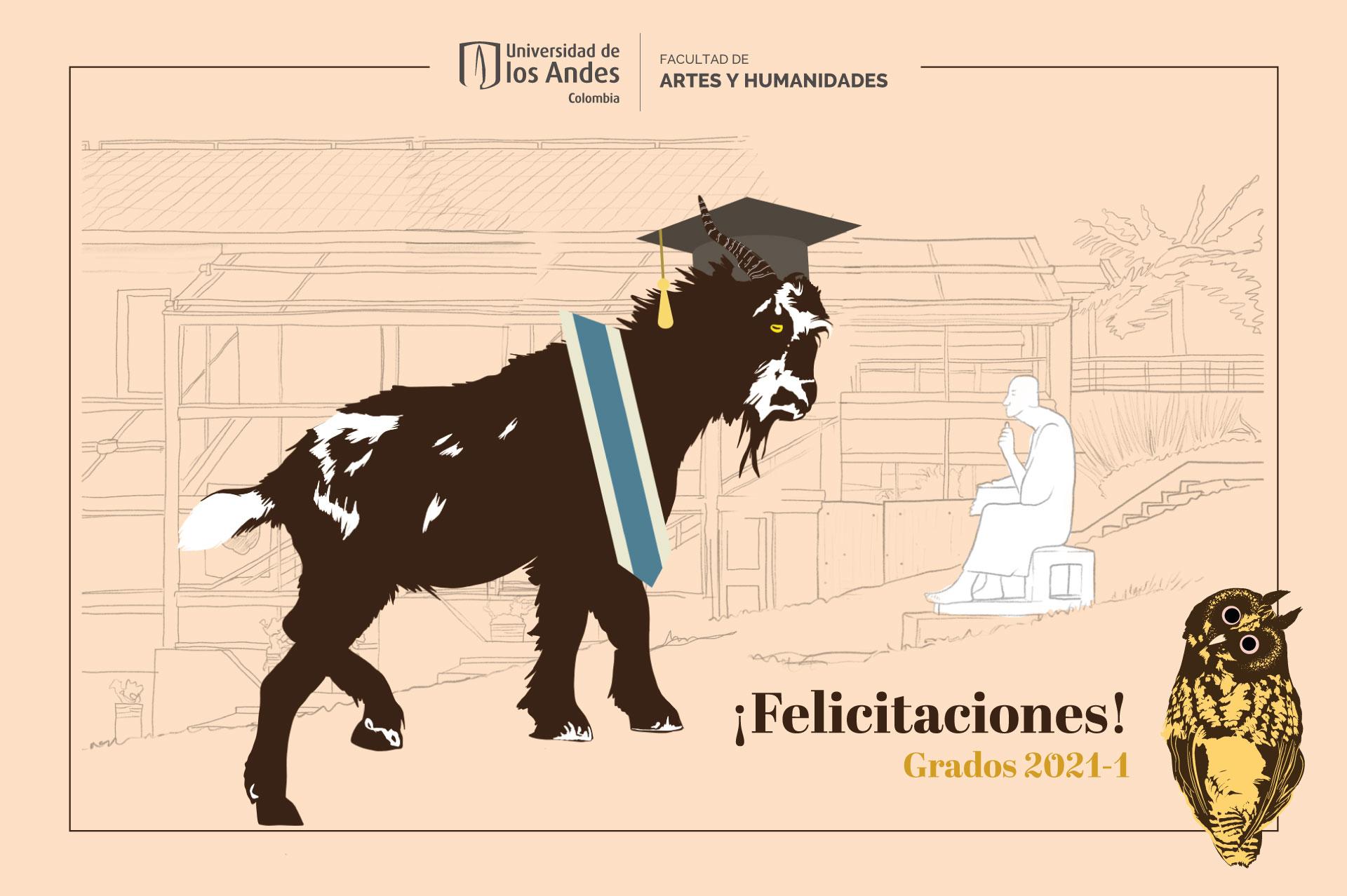 ¡Felicitaciones a los graduados 2021-1 de la Facultad de Artes y Humanidades!