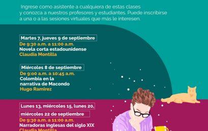 ¿Quisiera saber cómo es una clase si ingresa al pregrado en literatura? | Colombia en la narrativa de Macondo, Hugo Ramírez